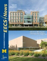 the university of michigan - Electrical Engineering and Computer ...