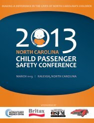 view and/or download a pdf version of the 2013 ... - buckleupnc.org