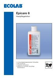 ECOLAB-Epicare 6