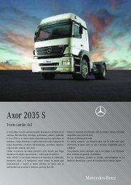 Axor 2035 S
