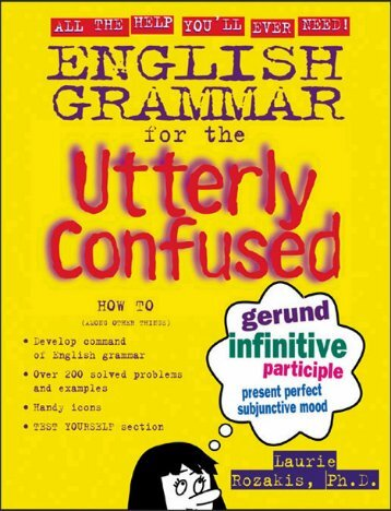 EN - English Grammar for the Utterly Confused.pdf