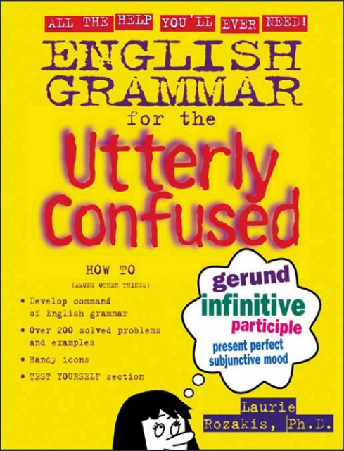 EN - English Grammar for the Utterly Confused pdf
