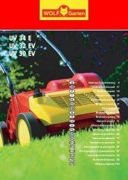 UV 34 E UV 32 EV UV 30 EV UV 34 E UV 32 EV UV 30 EV