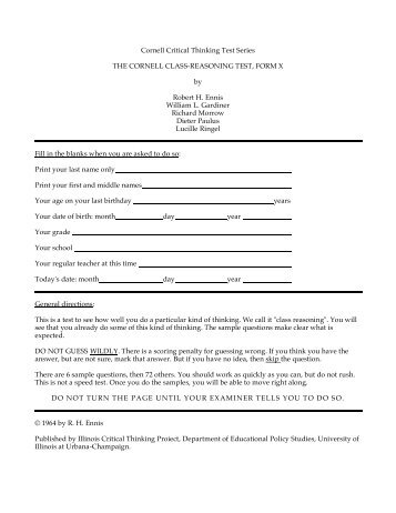 cornell essay questions 2010