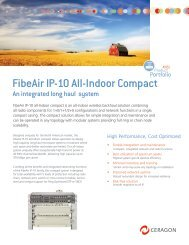 FibeAir IP-10 All-Indoor Compact - Leading provider of wireless ...