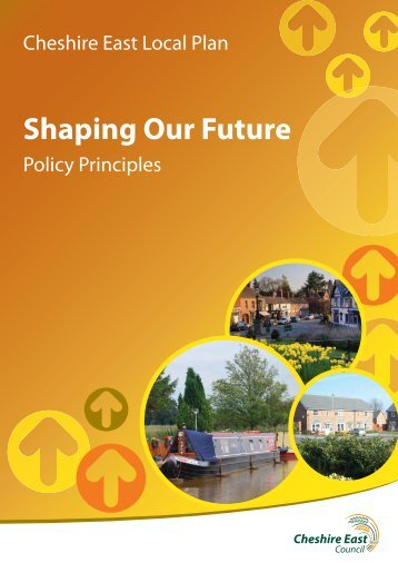 Cheshire East Local Plan Shaping Our Future Policy Principles