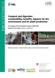 Compost and digestate : sustainability, benefits, impacts ... - Ramiran