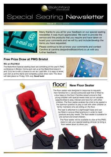 Special Seating Newsletter - Blatchford