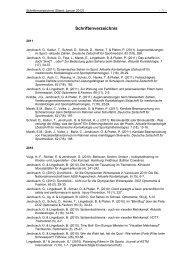 Schriftenverzeichnis-2012 - Sports Science - Ruhr-Universität Bochum