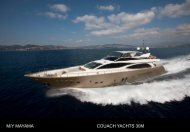 M/Y MAYAMA COUACH YACHTS 30M - Taylor'd Yacht Charters