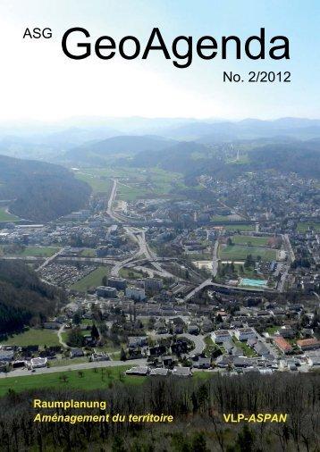 GeoAgenda 2012-2.indd - Verband Geographie Schweiz