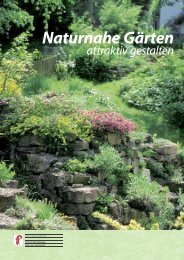 Naturnahe Gärten attraktiv gestalten - Kanton Basel-Landschaft