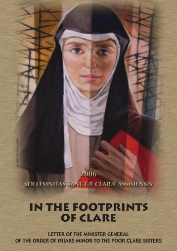 IN THE FOOTPRINTS OF CLARE - OFM