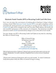 Electronic Funds Transfer (EFT) or Recurring Credit Card Gifts Form