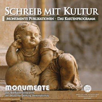 SCHREIB MIT KULTUR - Der Denkmal-Shop der Deutschen Stiftung ...