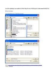 ArcGIS vejledning i anvendelse af (Web Map Service) WMS lag fra ...