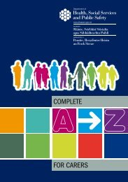 A - Z for Carers - Western Health and Social Care Trust