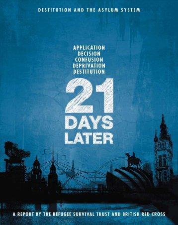 Destitution and the Asylum System: 21 days later - Still Human Still ...