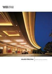 AluLED IP20/IP64 Profilé LED