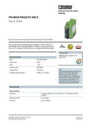 PSI-MOS-RS422/FO 660 E - pidindustrial.com.br