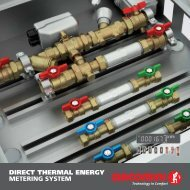 direct thermal energy metering system 0207en - Giacomini SpA