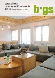 Unterkunft für Lernende und Studierende - BGS-Chur
