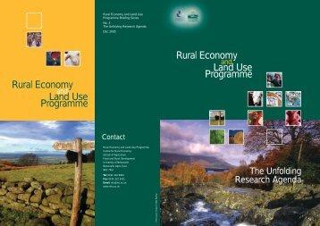 Relu: the Unfolding Research Agenda - Relu Knowledge Portal