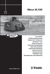 Rotationslaser HL100 - proNIVO