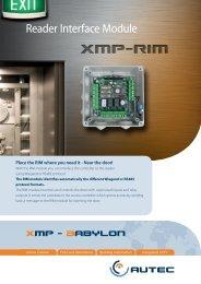 XMP-RIM-0xx Flyer - AUTEC Gesellschaft für Automationstechnik mbH