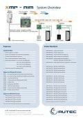 XMP-RIM-0xx Flyer - AUTEC Gesellschaft für Automationstechnik mbH - Page 2