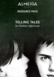 Download Telling Tales Resource Pack - Almeida Theatre