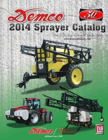 Demco Spray Catalog - Farmco Distributing Inc