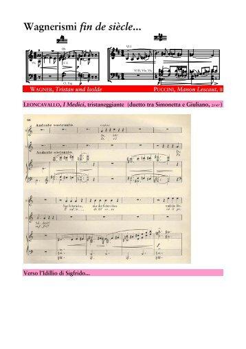 Wagnerismi fin de siècle...