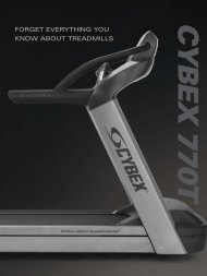FORGET EVERyThING yOU KNOW ABOUT TREADMILLS