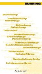 Kontakt Deutschland - Gühring Navigator - Gühring oHG