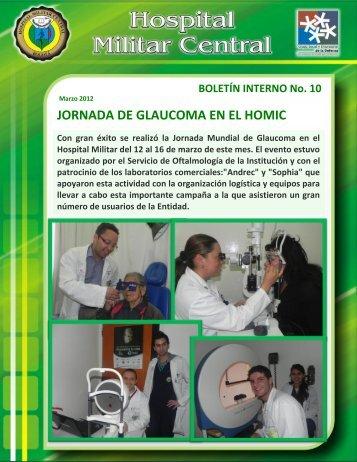 Boletín interno No 10.pdf - Hospital Militar