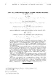 A New Dual-Polarization Radar Rainfall Algorithm - CSU Radar ...