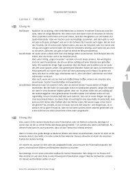 TRANSKRIPTIONEN Lektion 1 FREUNDE Übung 4a ... - Hueber