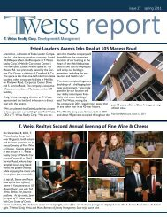 Issue 27 - Spring 2011 - T. Weiss Realty