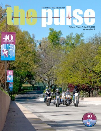 Vol. 7, Issue 7 Apr 13, 2012 - Uniformed Services University of the ...