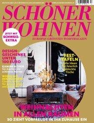 Schöner Wohnen Ausgabe 12.2012 - editionformform
