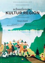 Schaufenster Kultur.Region März 2013 - Museen & Sammlungen