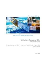 Memoria del proyecto - Miliarium