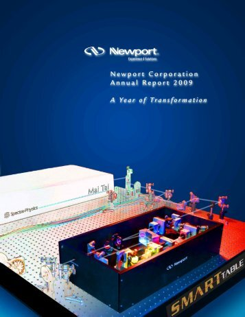 Newport 2009 Annual Report - Newport Corporation