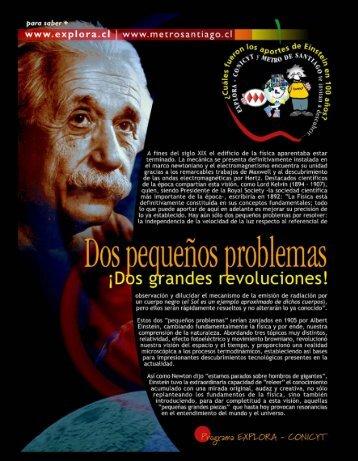 aportes de Einstein-sl - Cosmofisica