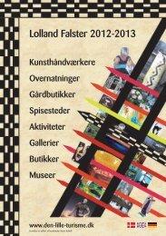 Lolland Falster 2012-2013 - Den lille turisme