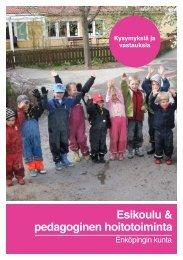 Esikoulu & pedagoginen hoitotoiminta - Enköping