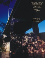 Annual Report Year 2000 - Civil and Environmental Engineering