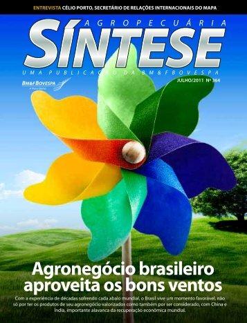 agronegócio brasileiro aproveita os bons ventos - BM&FBovespa