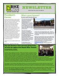Newsletter Fall 2012 DRAFTv1 - Bike Utah